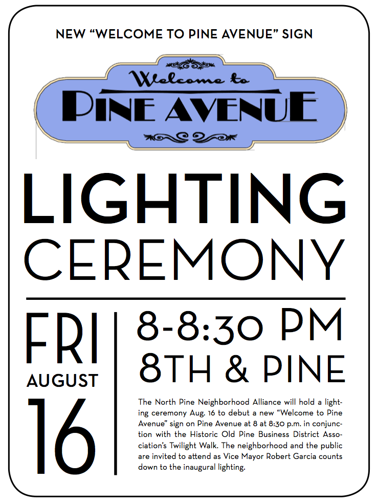 NPNA Lighting Ceremony